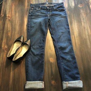 7FAM Straight Leg Jean Size 26